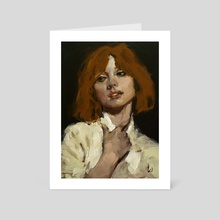 Chorus - Art Card by John Larriva