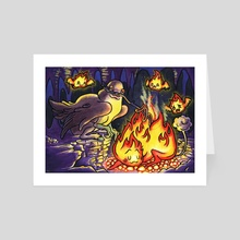 Weenie Roast - Art Card by The Ham Official
