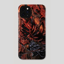 The Reaper - Phone Case by Emilio Rodríguez (Emkun)