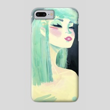 Girl - Phone Case by Jonnakonna Uhrman