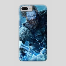 Kissed by Fire - Phone Case by Ertaç Altınöz