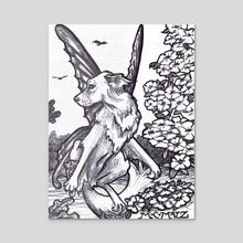 Dogwood - Acrylic by M. C.  Matz
