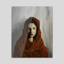 Red - Acrylic by James Dowling