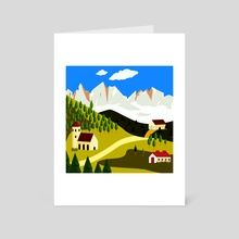Italy 12 - Art Card by Michal Eyal