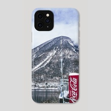 nikko under the snow - Phone Case by Kimie Lee