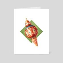Tree Ornament #2 - Art Card by Philippe Poirier