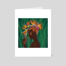 Birds of Paradise - Art Card by LA Pierce