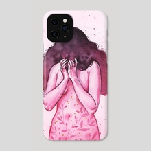 Crowded Thoughts - Phone Case by Ellen Wilberg