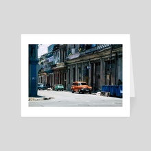 Casa Cubana - Art Card by Alex Tonetti