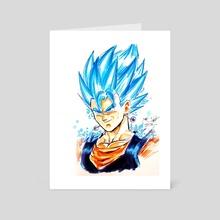 Vegito Blue - Art Card by MARK CLARK II