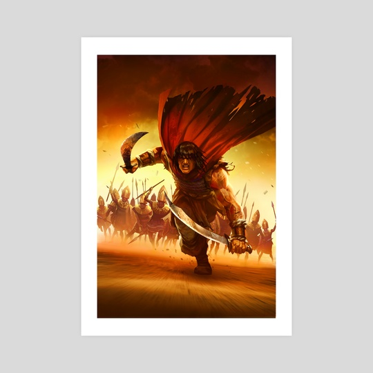 conan the avenger 7 by Daryl Mandryk