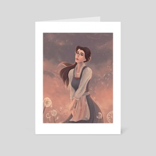 Belle's Reprise - Art Card by Kristin Patoni