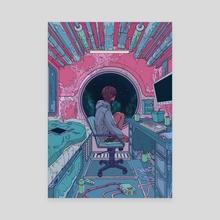 Capsule Apartment - Canvas by Kuura Koskinen