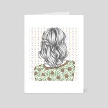 Hair - Art Card by Sad Bunny