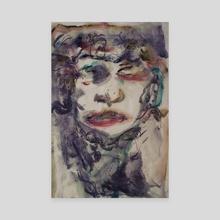 Ink-Male-2 - Canvas by wudufu