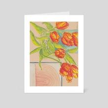 Tulipe - Art Card by M. Broca