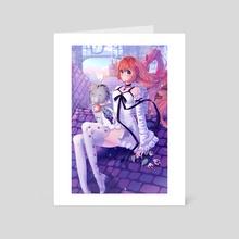 daybreak town - Art Card by awato