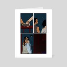 The Balcony - Art Card by Noel Lee