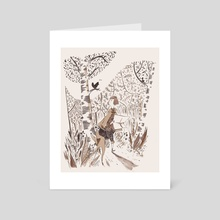 Forest Time - Art Card by Roman Muradov