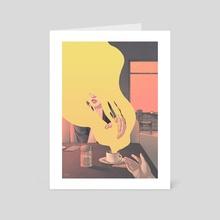 Reach - Art Card by Taychin Dunn