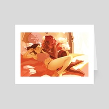 Lazy - Art Card by Xiao Tong Kong