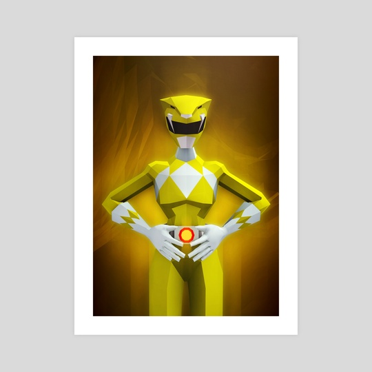 Yellow Ranger by Jonathan Lam