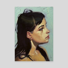 Loops - Canvas by John Larriva