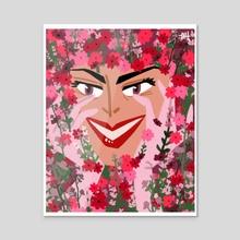 Witch's Garden - Acrylic by maram
