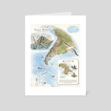 Cape Horn - Exploration AD 1616 - Art Card by The Last Mapmaker  - Filippo Vanzo