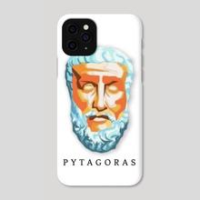 Pytagoras - Phone Case by Vratislav
