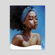 Mindful - Canvas by mel milton