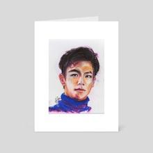 Pastel Seunghyun - Art Card by Alexandra Imberh
