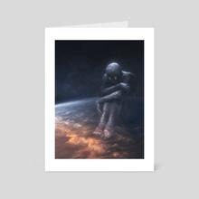 Galaxy Gazer - Art Card by Allison Chin
