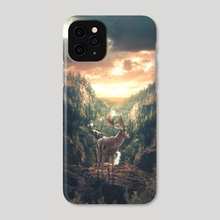 Existentialism - Phone Case by Anttoni Salminen