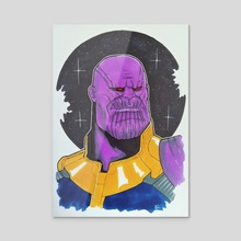 Thanos - Acrylic by Nilla Skaalu