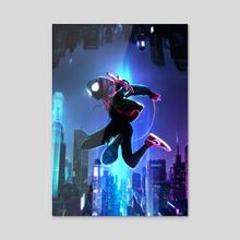 The Spider-Verse - Acrylic by Mizuri