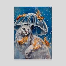 It's Fishing Outside - Canvas by Charlotte Jordan
