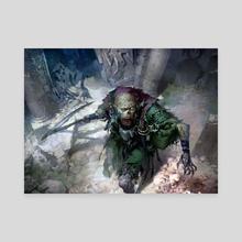 Dread Return - Canvas by Svetlin Velinov