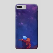 The universe comes into focus - Phone Case by Ari North