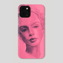 BLANKS PT. II - Phone Case by Jose Canizares