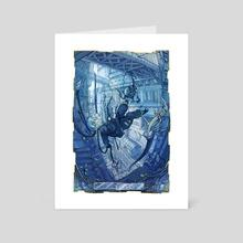 Blue Bird - Art Card by Yomiya