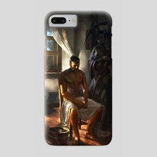 At the End / Thanatos - Phone Case by Piotr Arendzikowski