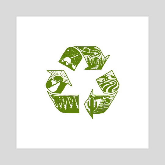Recycle by Jimmy Bryant