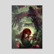 Owls - Acrylic by Ken McCuen