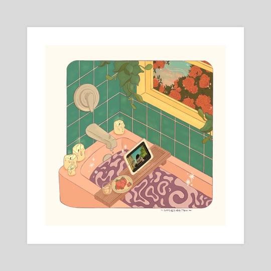Bath Time by GabzSketch