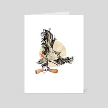 Owl - Art Card by Cristiana Grati