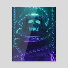 Nightmare VI - Acrylic by Leonardo Senas