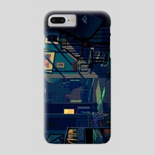 The Aftershocks - Phone Case by Rebecca Mock