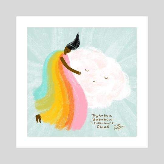 Rainbow Hug by Aura Lewis