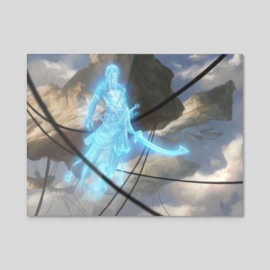 """Ghostly Sentinel by Mike """"Daarken"""" Lim"""